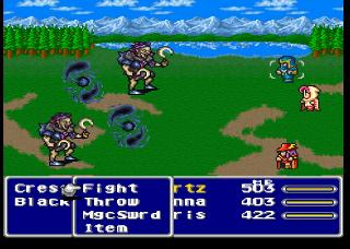 Screenshot Thumbnail / Media File 1 for Final Fantasy V (Japan) [En by RPGe v1.1]